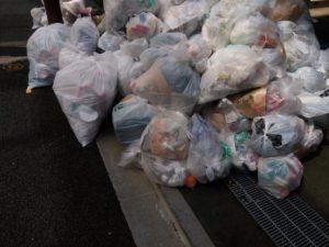 西区 ゴミ収集